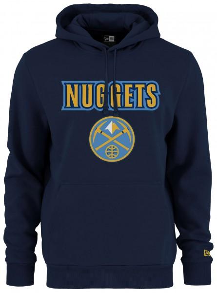 Kapuzenpullover mit gedrucktem Logo des NBA Teams Denver Nuggets