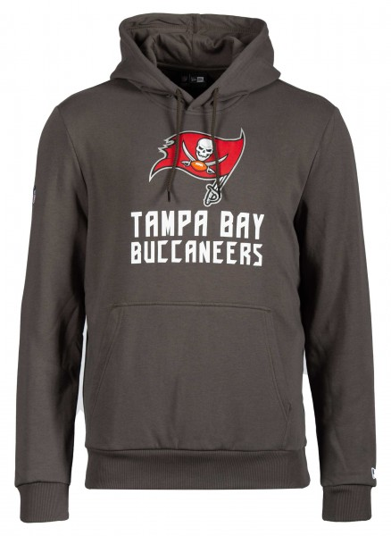 New Era - NFL Tampa Bay Buccaneers Team Logo and Name Hoodie - Dunkelgrau