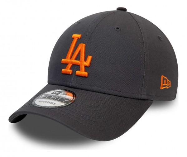 New Era - MLB Los Angeles Dodgers League Essential 9Forty Strapback Cap - Grün Ansicht vorne schräg links