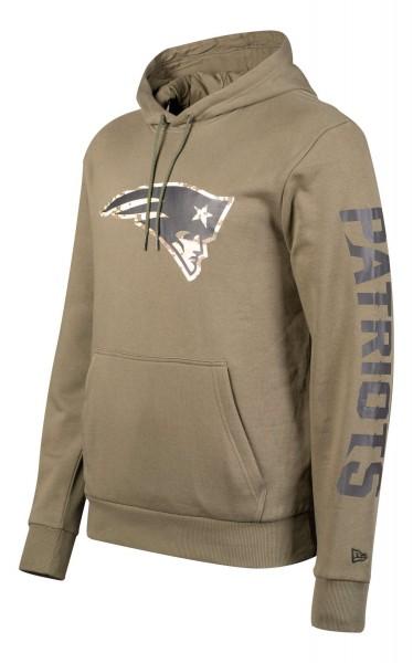 New Era - NFL New England Patriots Digi Camo PO Hoodie - Camouflage Ansicht vorne schräg links