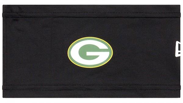New Era - NFL Green Bay Packers On-Field Training Skull Stirnband vorderseite