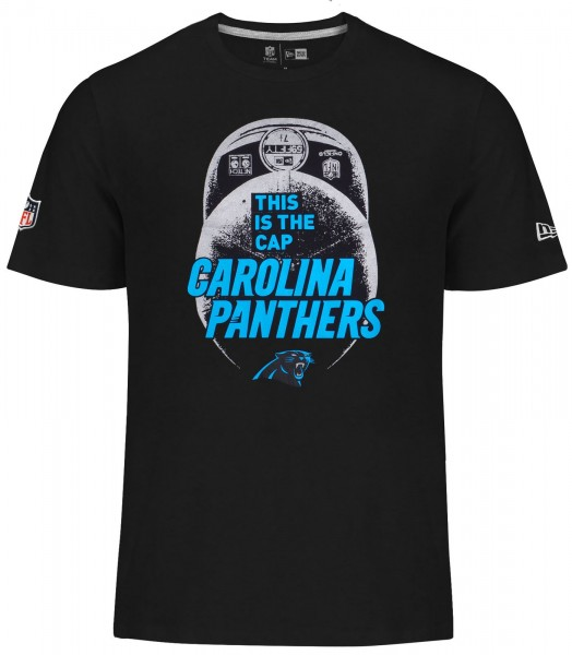 New Era - NFL Carolina Panthers Cap Classic T-Shirt - black