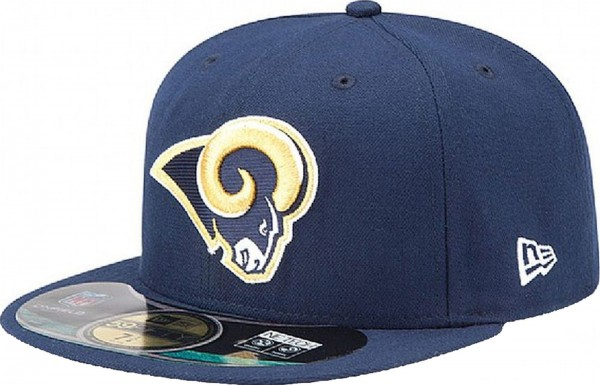 New Era - NFL Los Angeles Rams Authentic On-Field 59Fifty Cap - navy