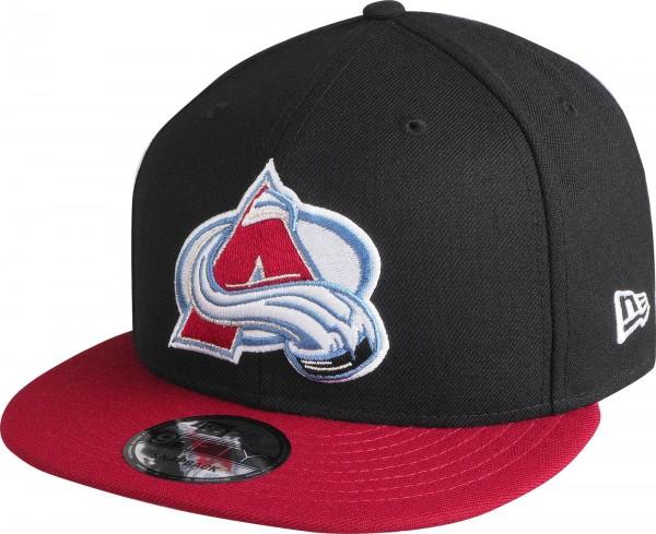 New Era - NHL Colorado Avalanche 9Fifty Snapback Cap - black-red