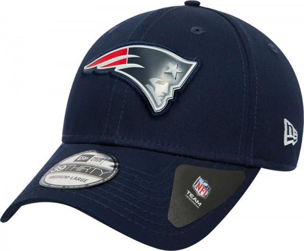 New Era - NFL New England Patriots Stretch Logo Weld 39Thirty Cap - navy