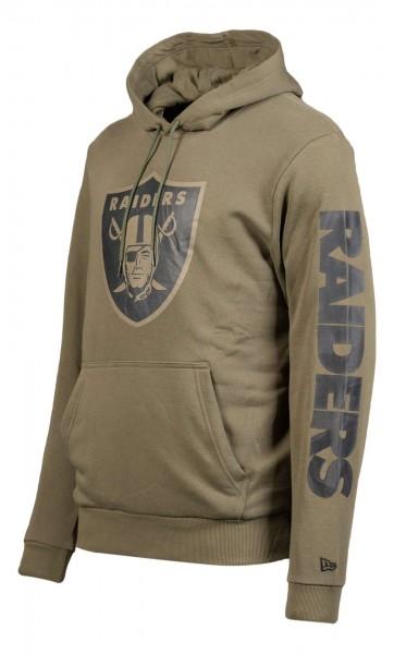 New Era - NFL Las Vegas Raiders Digi Camo PO Hoodie - Camouflage Ansicht vorne schräg links