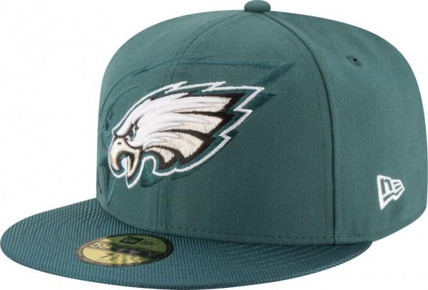 New Era - NFL Philadelphia Eagles 2016/17 Sideline 59Fifty Cap - Turquoise
