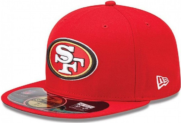 New Era - NFL San Francisco 49ers Authentic On-Field 59Fifty Cap - red