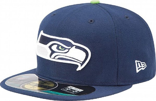 New Era - NFL Seattle Seahawks Authentic On-Field 59Fifty Cap - navy