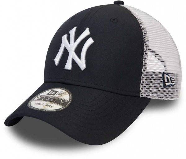 New Era - MLB New York Yankees Summer League 9Forty Strapback Cap - Blau Ansicht vorne schräg links