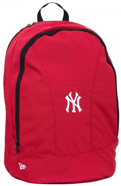 New Era - MLB New York Yankees Stadium Backpack Rucksack - Rot vorderansicht