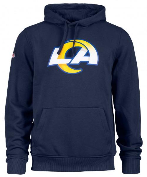 New Era - NFL Los Angeles Rams Team Logo Hoodie - Blau