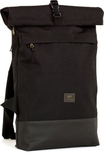 Freibeutler - Courier Bag Rucksack - black