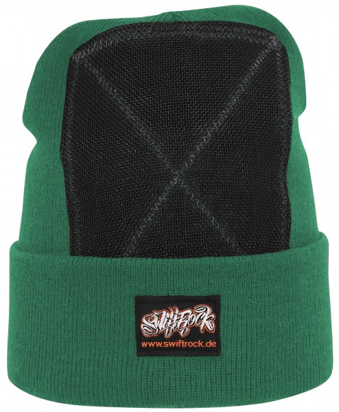 SR Rocking Gear - Swift Rock Classic Headspin Beanie - Grün