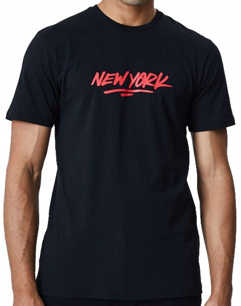 New Era - New York City Graphic T-Shirt - Schwarz Vorderansicht