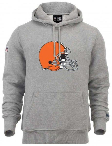 New Era - NFL Cleveland Browns Team Logo Hoodie - Grau