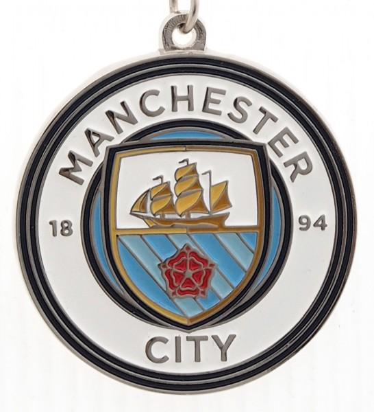 Forever Collectibles - EPL Manchester City Schlüsselanhänger - Mehrfarbig Nahansicht