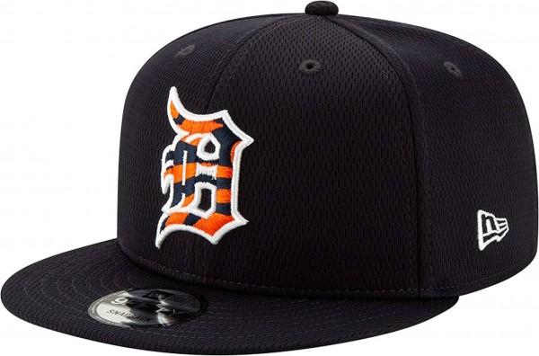 New Era - MLB Detroit Tigers 2020 Batting Practice Snapback Cap - Schwarz Ansicht vorne links