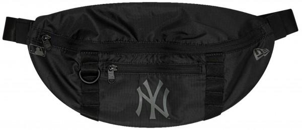 New Era - MLB New York Yankees Waist Bag Light Tasche - Schwarz Vorderansicht