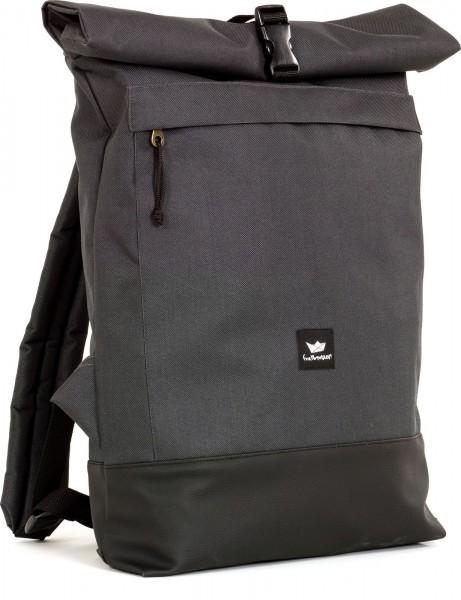 Freibeutler - Courier Bag Rucksack - charcoal