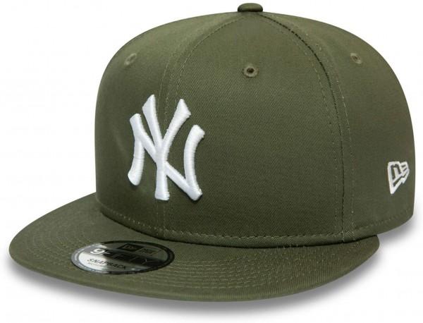 New Era - MLB New York Yankees Essential 9Fifty Snapback Cap - Grün Ansicht vorne links