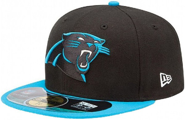 New Era - NFL Carolina Panthers Authentic On-Field 59Fifty Cap - black