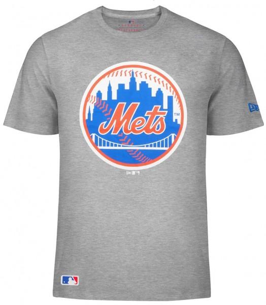 New Era - MLB New York Mets T-Shirt - light grey