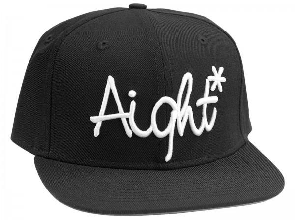 Aight* - OG Logo Embroid Snapback Cap - black