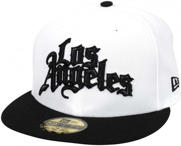 New Era - NBA Los Angeles Clippers 2019 City Series 59Fifty Fitted Cap - Weiß