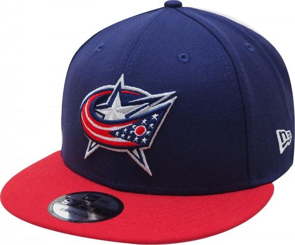 New Era - NHL Columbus Blue Jackets 9Fifty Snapback Cap - navy-red