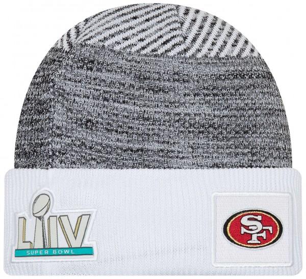New Era - NFL San Francisco 49ers Super Bowl LIV On Field Beanie - Weiß
