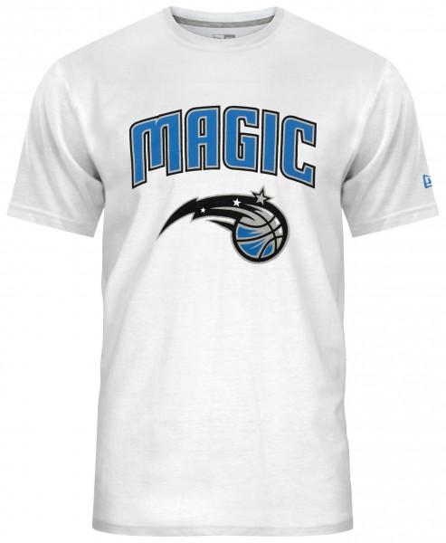 New Era - NBA Orlando Magic Team Logo T-Shirt - Weiß Vorderansicht