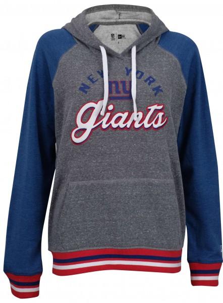New Era - NFL New York Giants Damen Hoodie - Grau Vorderansicht