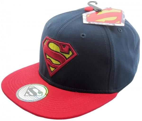 DC Comics - Superman Contrast Snapback Cap - Schwarz