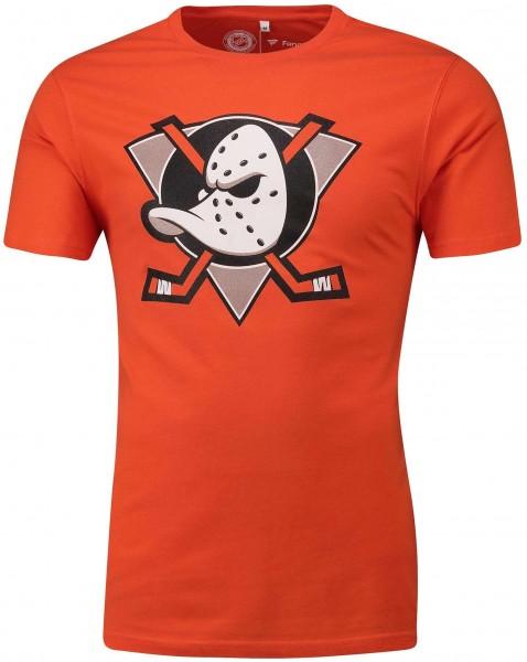 Fanatics - NHL Anaheim Ducks Secondary Core Graphic T-Shirt - Orange Vorderansicht