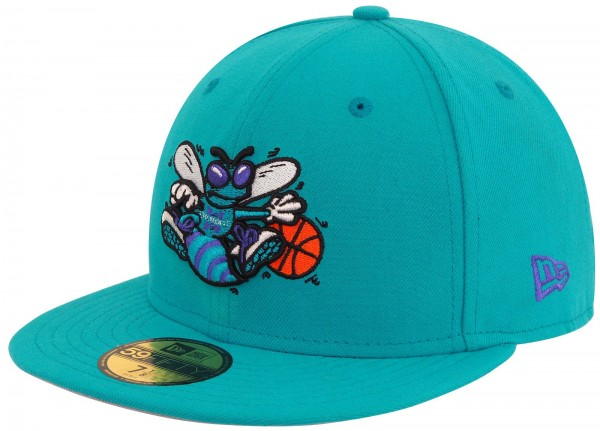 New Era - NBA Charlotte Hornets Team HWC 59Fifty Cap - Türkis
