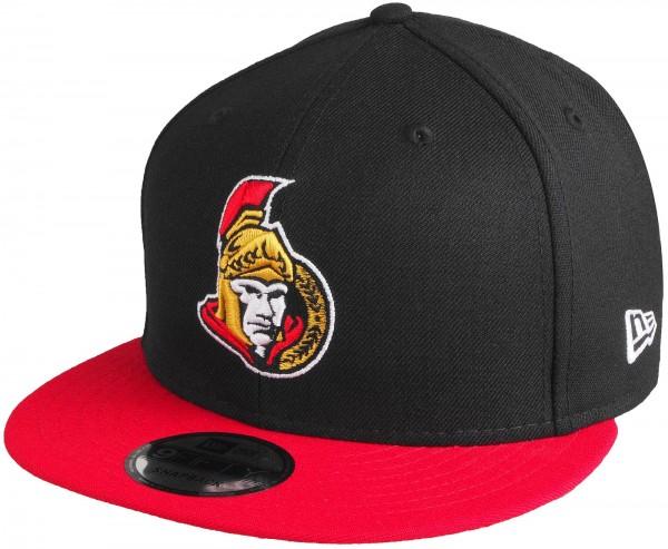 New Era - NHL Ottawa Senators 9Fifty Snapback Cap - black-red