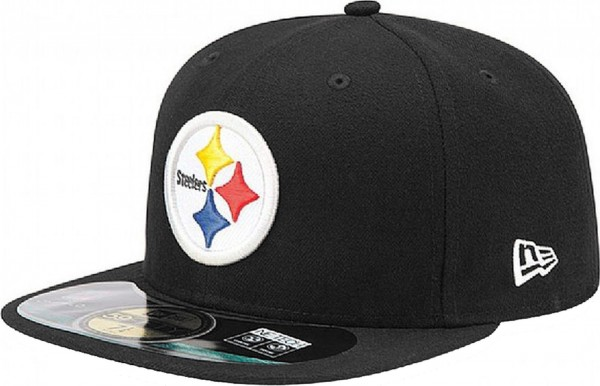 New Era - NFL Pittsburgh Steelers On-Field 59Fifty Cap - black