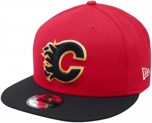 New Era - NHL Calgary Flames 9Fifty Snapback Cap - red-black