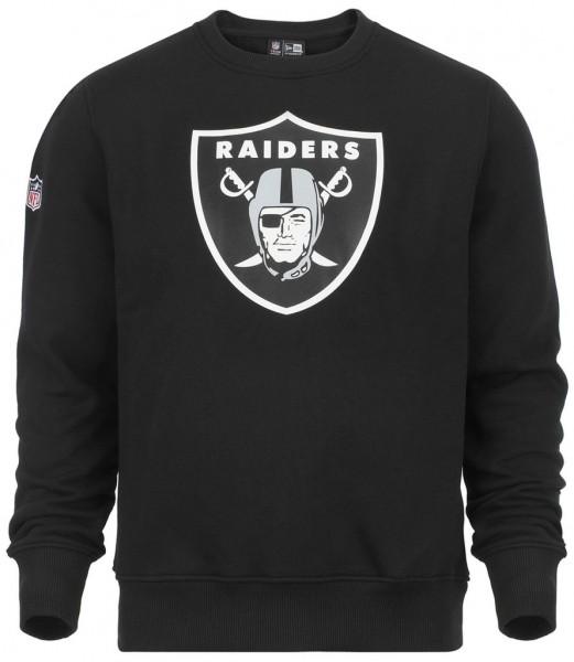 New Era - NFL Oakland Raiders Team Logo Sweatshirt - black