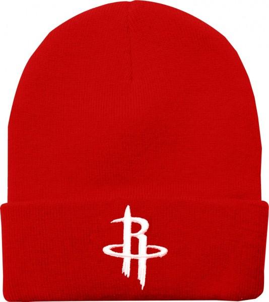 Mitchell & Ness - NBA Houston Rockets Team Logo Cuff Beanie - red