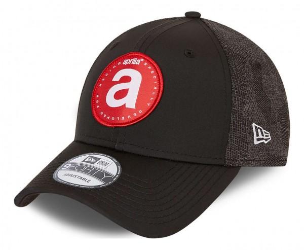 New Era - Aprilia Engineered Fit 2 9Forty Strapback Cap - Grau Ansicht vorne schräg links