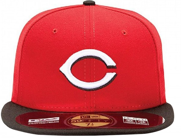 New Era - MLB Cincinnati Reds Authentic On-Field 59Fifty Cap - red-black