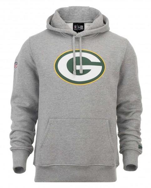 New Era - NFL Green Bay Packers Team Logo Hoodie - grey