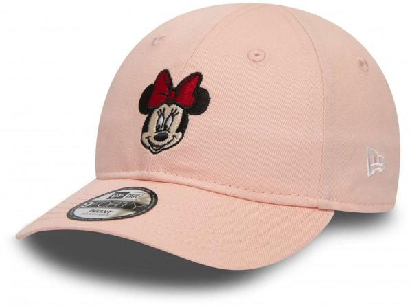 New Era - Disney Minnie Mouse Character 9Forty Kids Strapback Cap - Pink Ansicht vorne schräg links