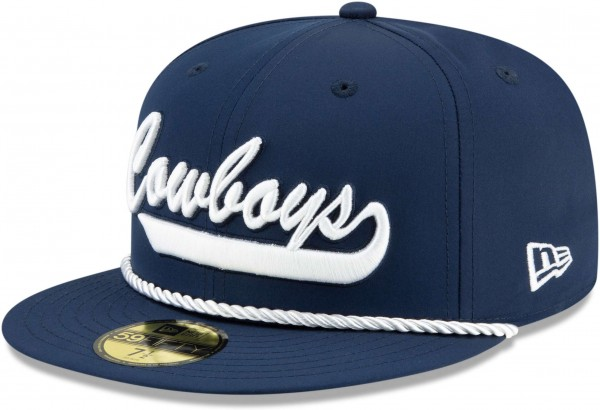 New Era - NFL Dallas Cowboys On Field 2019 Sideline Home 59Fifty Fitted Cap - Blau