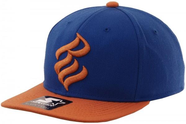 Rocawear - Starter - RW Logo Snapback Cap - blue-orange