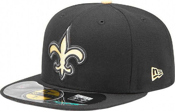 New Era - NFL New Orleans Saints Authentic On-Field 59Fifty Cap - black