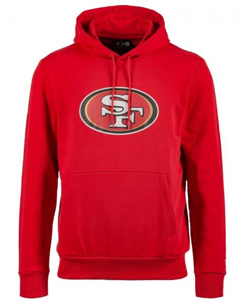 New Era - NFL San Francisco 49ers Team Logo Hoodie - Rot