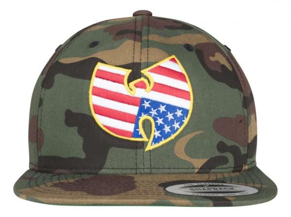 Mister Tee - Wu Wear Snapback Cap - Camouflage Vorderansicht